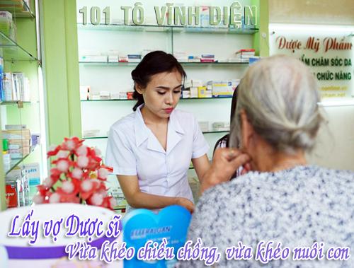 Nên yêu gái ngành y nhưng chỉ nên lấy vợ ngành dược?