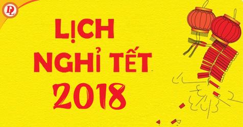 Học sinh sẽ được nghỉ Tết Âm lịch 2018 16 ngày