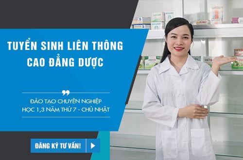 Thông tin tuyển sinh Liên thông Cao đẳng Dược Hà Nội