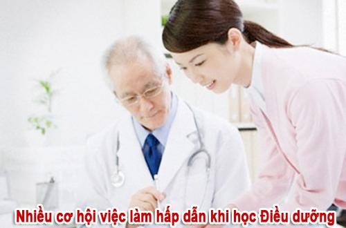 Khát nhân lực điều dưỡng viên ở nhiều bệnh viện