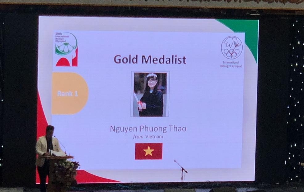 Nữ sinh đạt điểm thi Olympic CAO nhất thế giới năm 2018 mơ ước làm bác sĩ