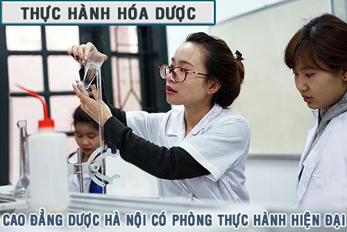 Phòng thực hành cao đẳng dược
