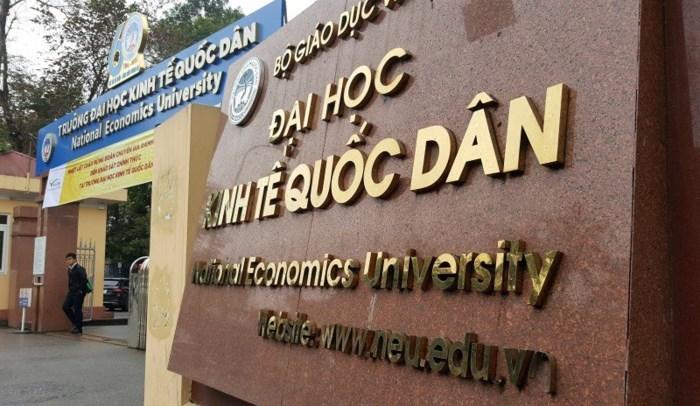 Đại diện của Đại học Kinh tế quốc dân cho biết điểm chuẩn năm 2018 chăc chắn GIẢM?