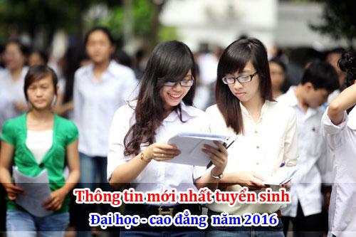 Bộ GD công bố chỉ đạo mới nhất về xét tuyển Đại học năm 2016