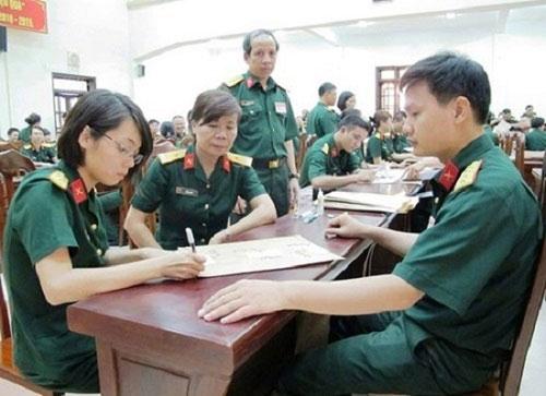 Hơn 7000 thí sinh mất cơ hội Xét tuyển vào các trường Quân đội trên cả nước