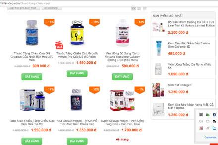 Dược phẩm quảng cáo tràn lan trên thị trường
