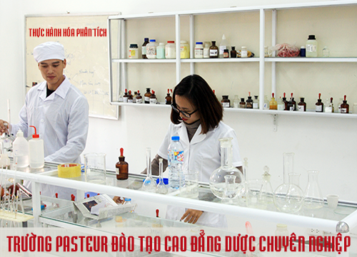 Trường cao đẳng Y Dược Pasteur đào tạo liên thông Cao đẳng Dược
