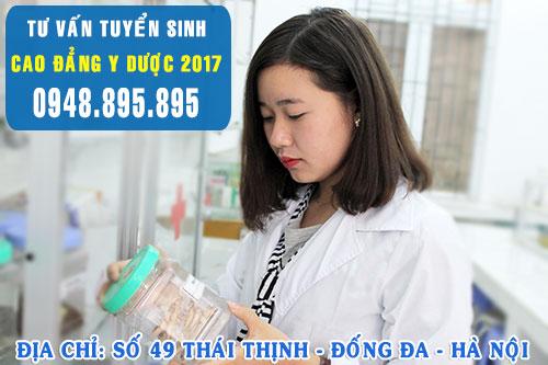 Xét tuyển Cao đẳng Dược chỉ cần tốt nghiệp THPT
