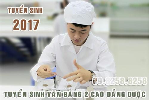 Tuyển sinh văn bằng 2 Cao đẳng Dược năm 2017