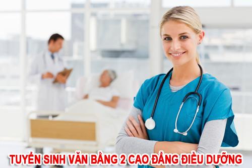 Tuyển sinh Văn bằng 2 Cao đẳng Điều dưỡng Hà Nội