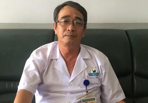 Bác sĩ Huỳnh Thanh Hiển. Ảnh: P.T.