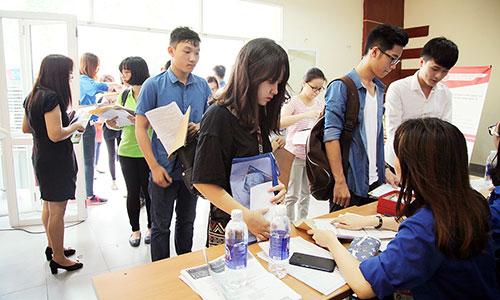 Từ ngày 13/8, các trường Đại học nhận hồ sơ xét tuyển bổ sung