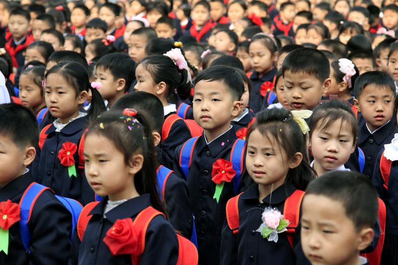 Lễ Khai giảng là ngày đặc biệt quan trọng tại Triều Tiên