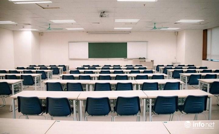 Phòng học với những trang thiết bị hiện đại nhất