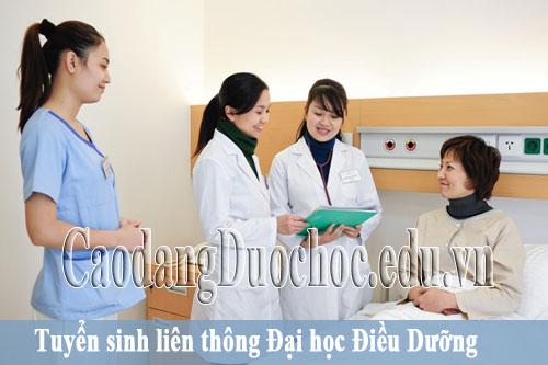 Tuyển sinh liên thông Đại học Điều dưỡng