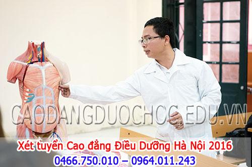 Hồ sơ xét tuyển Cao đẳng Điều dưỡng Hà Nội