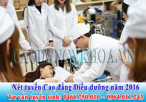 Địa chỉ đăng ký học Cao đẳng Điều dưỡng tại Hà Nội?