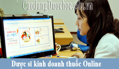 Dược sĩ kinh doanh thuốc Online