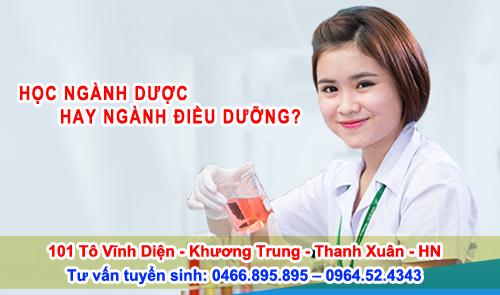 Học cao đẳng Dược hay Điều dưỡng
