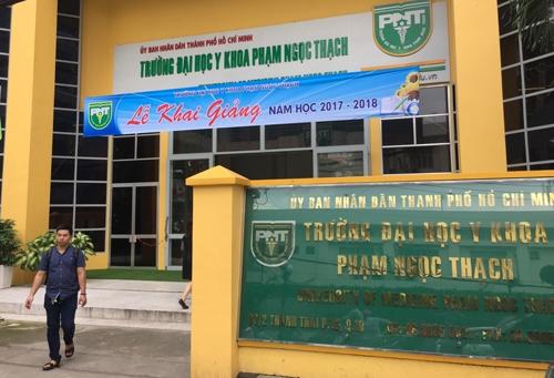 Trường Đại hoc Y Khoa Phạm Ngọc Thạch công bố thủ tục nhập học năm 2018