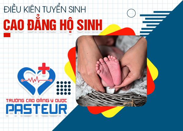 Điều kiện xét tuyển Cao đẳng Hộ sinh Hà Nội năm 2021