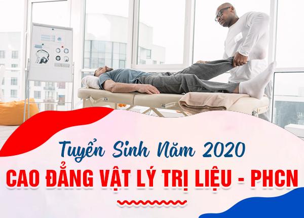 Tuyển sinh Cao đẳng Vật lý trị liệu Hà Nội chỉ cần tốt nghiệp THPT