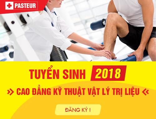 Tuyển sinh Cao đẳng Kỹ thuật Vật lý trị liệu năm 2018