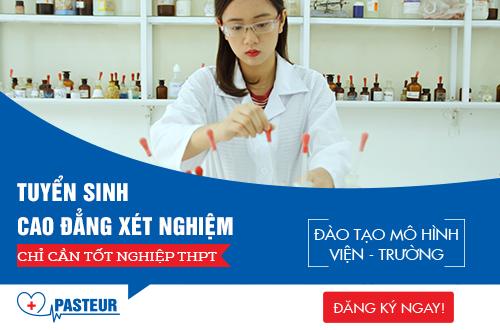 Cao đẳng Xét nghiệm y tế TP.HCM tuyển sinh năm 2018