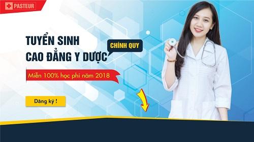 Tuyển sinh Cao đẳng Y Dược Hà Nội năm 2018 thí sinh tốt nghiệp THPT