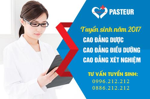 Trường Cao đẳng Y Dược Pasteur tuyển sinh Cao đẳng Y Dược năm 2017