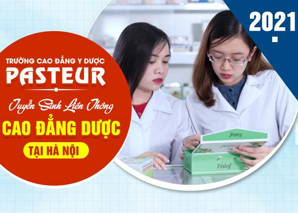 Học phí liên thông Cao đẳng Dược tại Hà Nội năm 2021 là bao nhiêu?