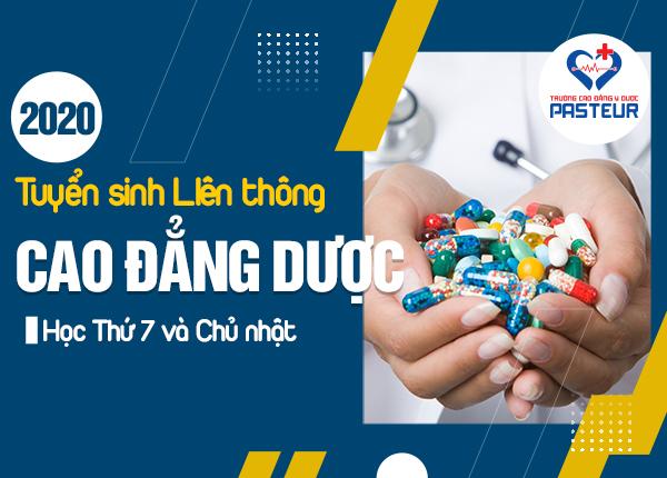 Địa chỉ học liên thông Cao đẳng Dược thứ 7 Chủ nhật ở Hà Nội