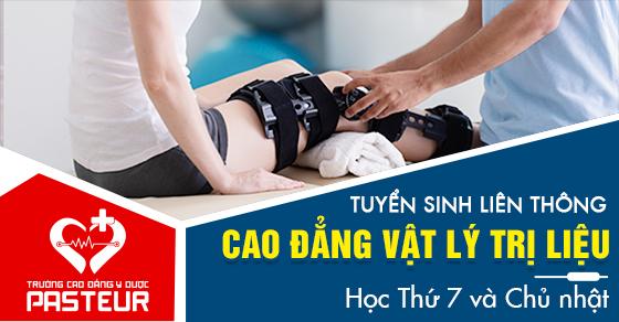 Lịch khai giảng liên thông Cao đẳng Vật lý trị liệu tháng 1/2021 tại Hà Nội