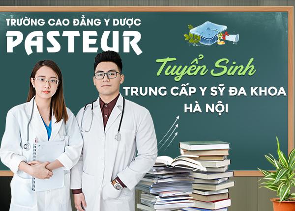 Tuyển sinh Trung cấp Y sĩ đa khoa Hà Nội năm 2021