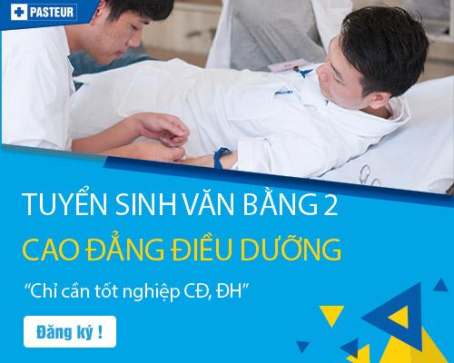 Tuyển sinh Văn bằng 2 Điều dưỡng Hà Nội 2018