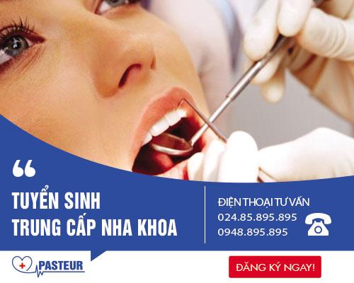 Thông báo tuyển sinh Trung cấp Kỹ thuật Phục hình răng năm 2017
