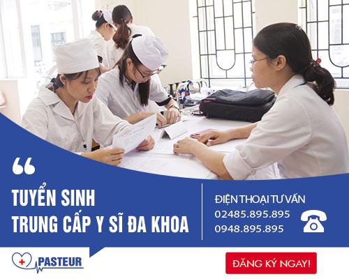 Trường Trung cấp Y khoa Pasteur tuyển sinh Trung cấp Y sĩ Đa khoa