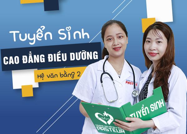 Tuyển sinh văn bằng 2 Cao đẳng Điều dưỡng năm 2021