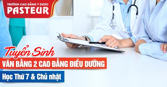 Đào tạo văn bằng 2 Cao đẳng Điều dưỡng học thứ 7 chủ nhật tại Hà Nội
