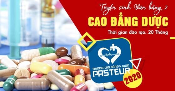 Chiêu sinh văn bằng 2 Cao đẳng Dược tại Hà Nội khai giảng tháng 12/2020
