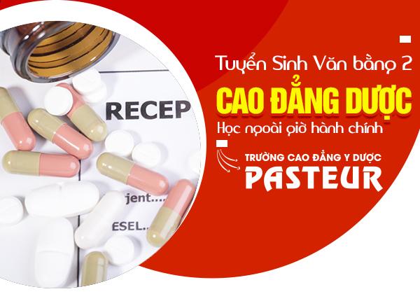 Tuyển sinh văn bằng 2 Cao đẳng Dược tại Hà Nội năm 2021