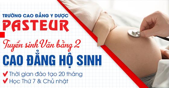 Xét tuyển văn bằng 2 Cao đẳng Hộ sinh Hà Nội năm 2021