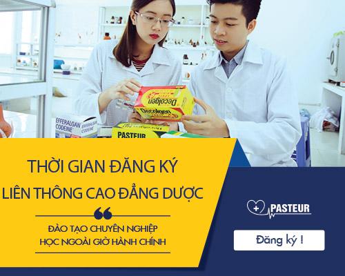 Địa chỉ đào tạo Liên thông Cao đẳng Dược tốt nhất Hà Nội