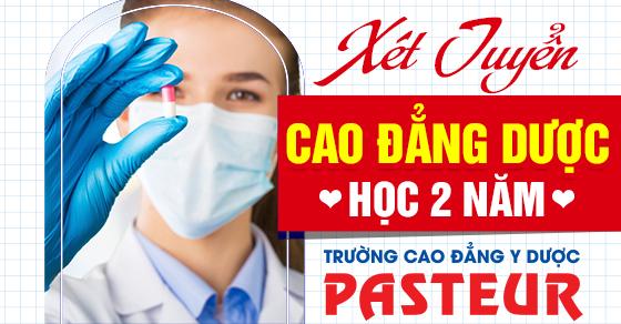 Hà Nội: mở lớp Cao đẳng Dược chính quy 02 năm học Thứ 7 CN tháng 10/2021