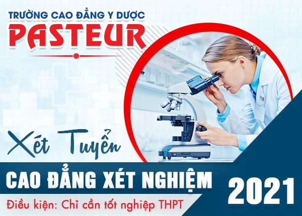 Tuyển sinh Cao đẳng Xét nghiệm Hà Nội năm 2021