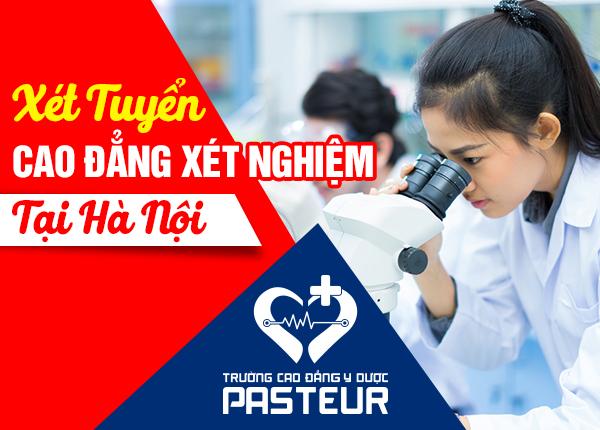 Xét tuyển Cao đẳng Xét nghiệm Y học Hà Nội 2020 chỉ cần tốt nghiệp THPT