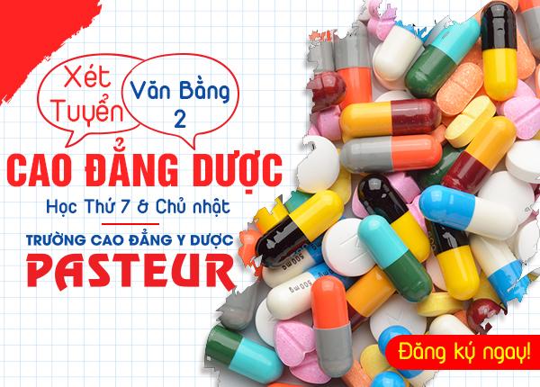 Xét tuyển văn bằng 2 Cao đẳng Dược tại Hà Nội năm 2020