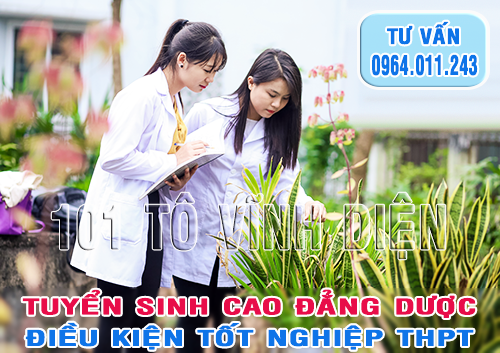 Cao dang Duoc Ha Noi nam 2016 tuyen sinh khoi nao
