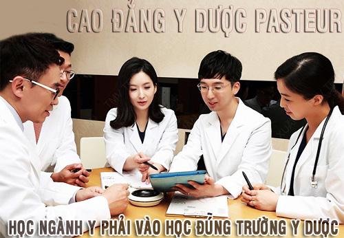 Địa chỉ Trường Cao đẳng Y Dược Pasteur Hà Nội ở đâu?