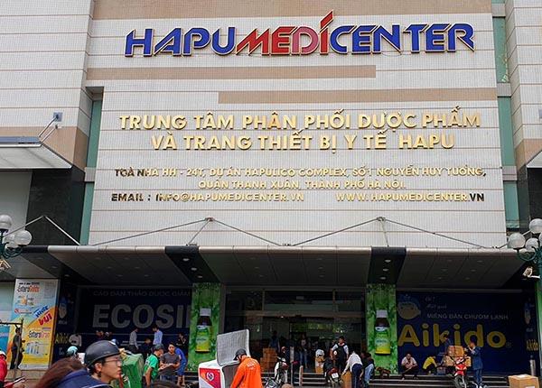 Địa chỉ chợ Thuốc Hapulico Hà Nội - Đầu mối bán buôn dược phẩm lớn nhất miền Bắc